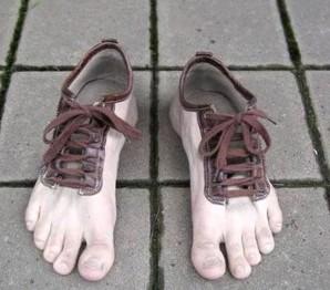 Я скинув чоботи, простую по дорозі